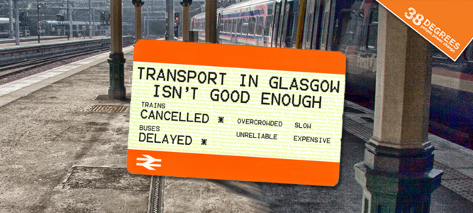 World-class transport for Glasgow